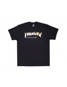 Thrasher Remera Flame Burner