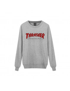 Thrasher Buzo Crewneck Outline