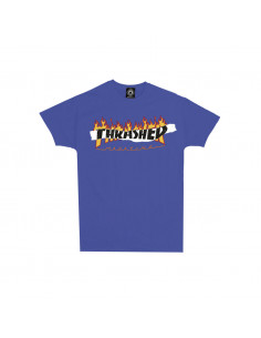 Thrasher Remera Split Flame