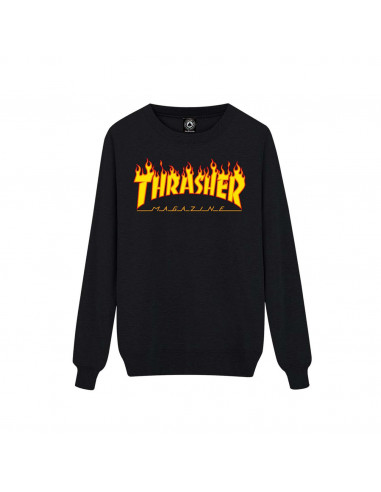 Thrasher Buzo Crewneck Men Flame